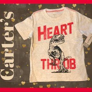 "♥️ 🆕 Carter's ""Heart Throb"" Boys Graphic Tee"